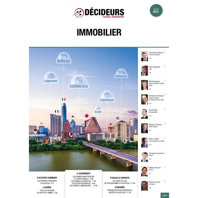Classement 2017 du magazine «Decideurs»