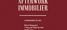Invitation afterwork immobilier