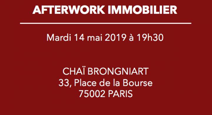 Invitation à l'afterwork du 14 mai 2019