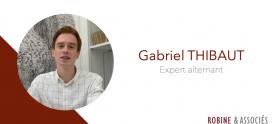 Interview de Gabriel THIBAUT, nouvel expert-alternant